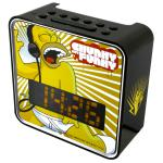Soundmaster UR270DS  PLL UKW Kinder-Uhrenradio, Simpsons-Design