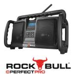 PerfectPro Rockbull Baustellenradio/Outdoorradio mit DAB+ inkl. BlueMatic