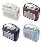 Soundmaster TR50 USB Retro Kofferradio mit MP3 Player