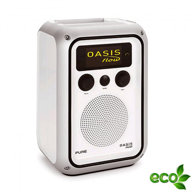 pure oasis flow internetradio badradio mit dab ukw radio inkl akku ebay. Black Bedroom Furniture Sets. Home Design Ideas