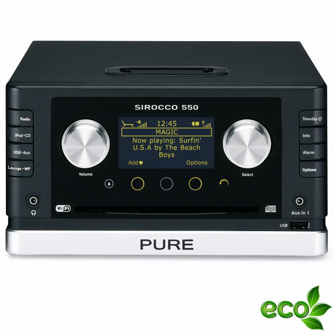 pure sirocco 550 console ohne lautsprecher dab dab radio. Black Bedroom Furniture Sets. Home Design Ideas